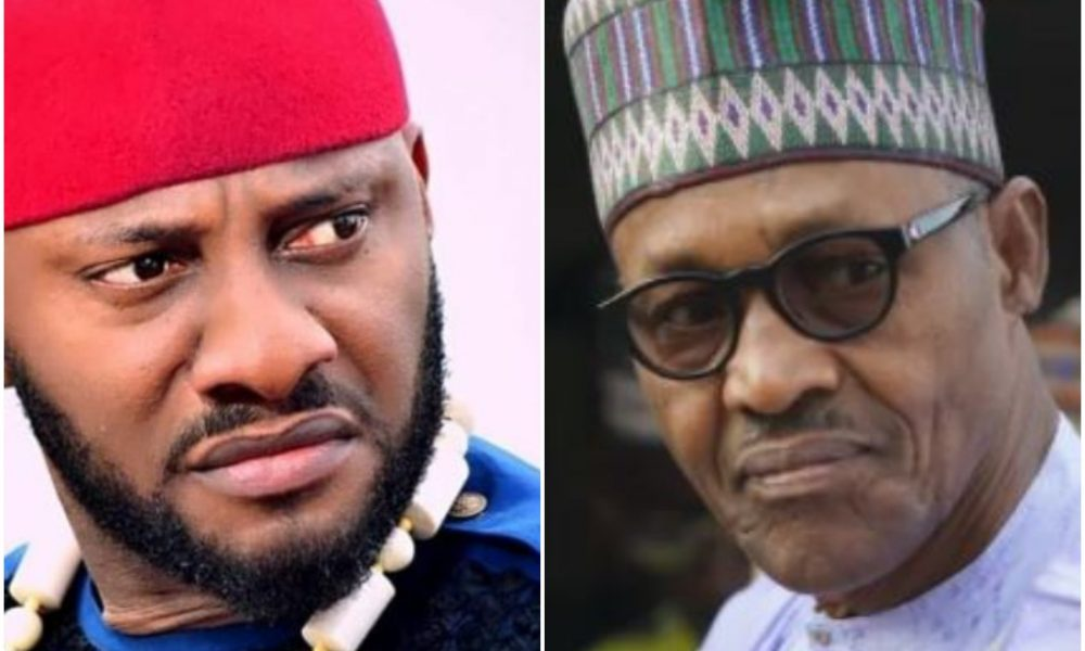 Yul Edochie Throws Heavy Jab At Buhari Hours After The President Left For The United States