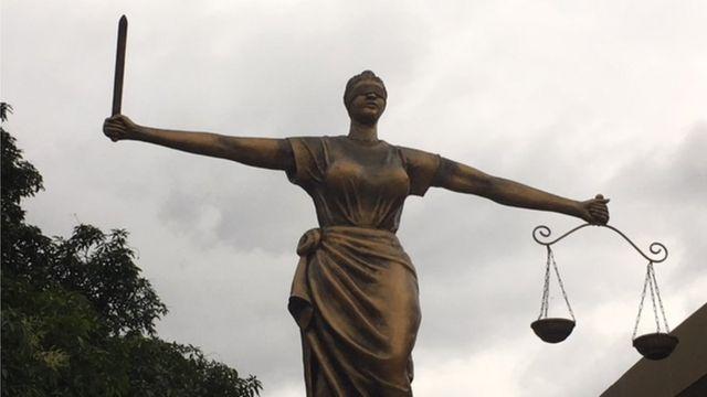 Justice judiciary symbol