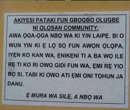 Ogun Bank Robbers