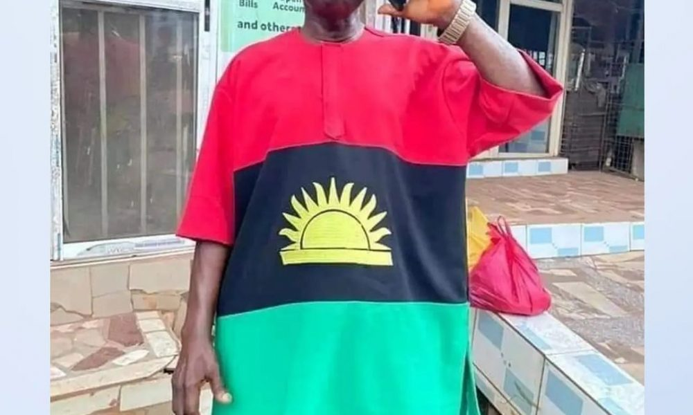 Chiwetalu Speaks After Arrest, Reveals The Meaning Of His Outfit To Soldiers