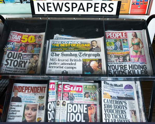 UK Newspapers Daily Front Pages Review   Sunday, 10 October, 2021