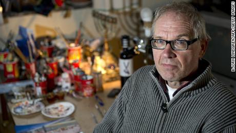 Lars Vilks Dies in Road Accident