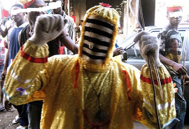Masquerade arrested for robbery in Ondo