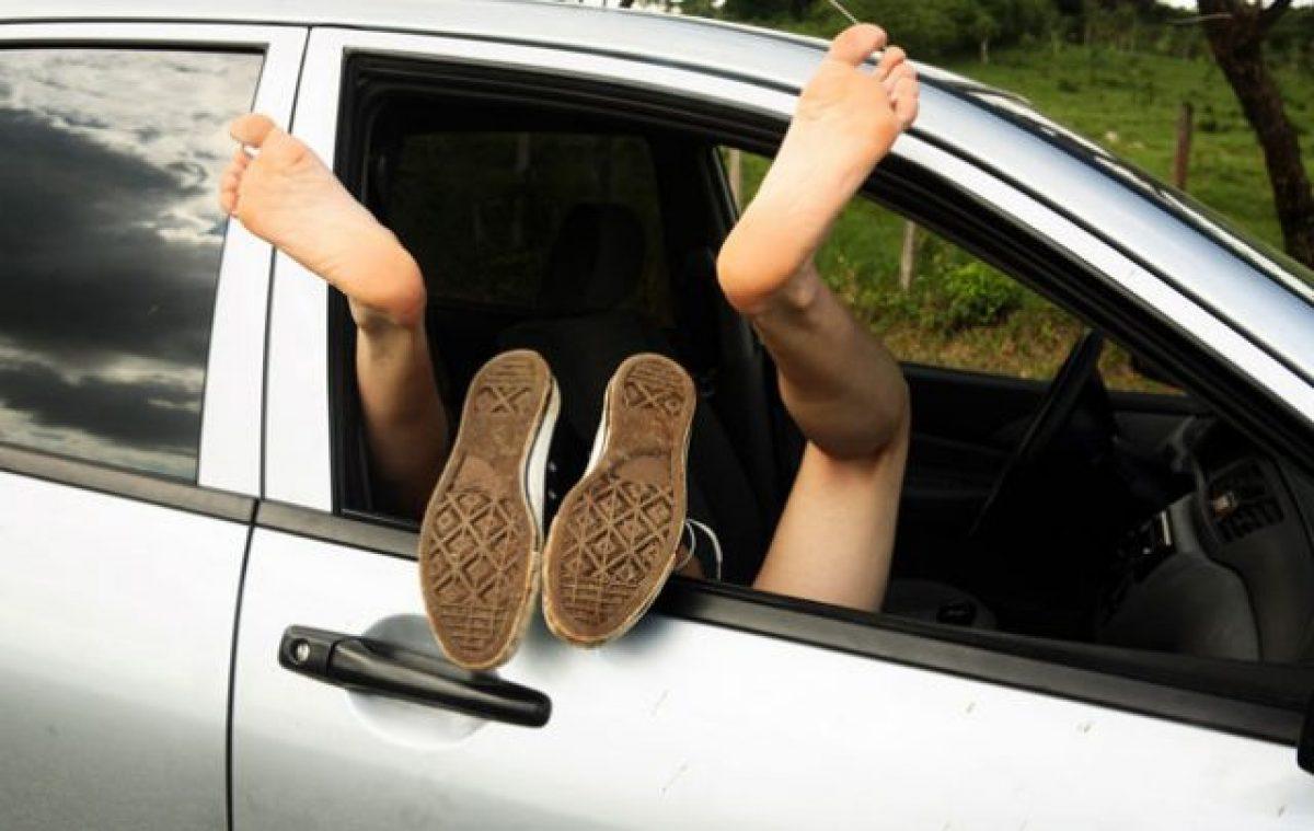 Sex inside Car