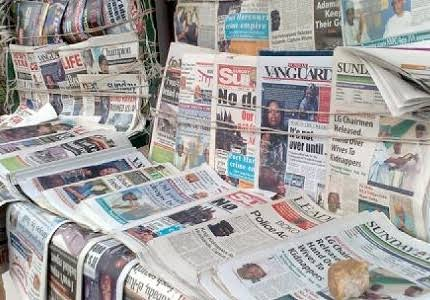 Nigerian Newspapers Daily Front Pages Review | Monday, 11 October, 2021