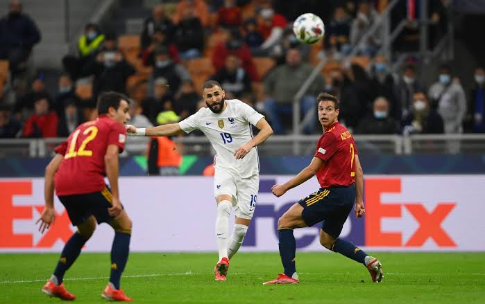 JUST IN: Benzema Inspired France Beat Spain To Lift UEFA Nations League