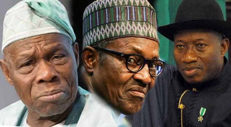 Obasanjo, Jonathan, Buhari